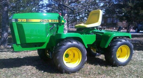 Just A Car Guy Garden tractor based articulated 4 wheel drive hand – Articulated Garden Tractor Plans