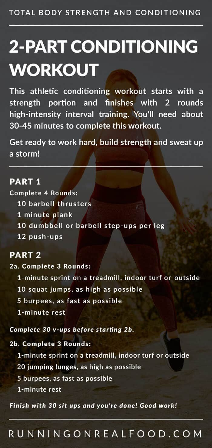 Athletic Conditioning Workout - Running on Real Food