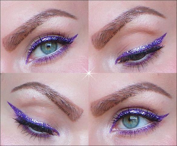Urban Decay Heavy Metal Glitter Eyeliner METALHEAD | Maria Bergmark #EyelinerPencil #glittereyeliner