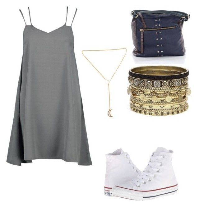 """""""Sydney❤️"""" by kayla-2003 on Polyvore featuring Boohoo, Converse, Oryany and Daytrip"""