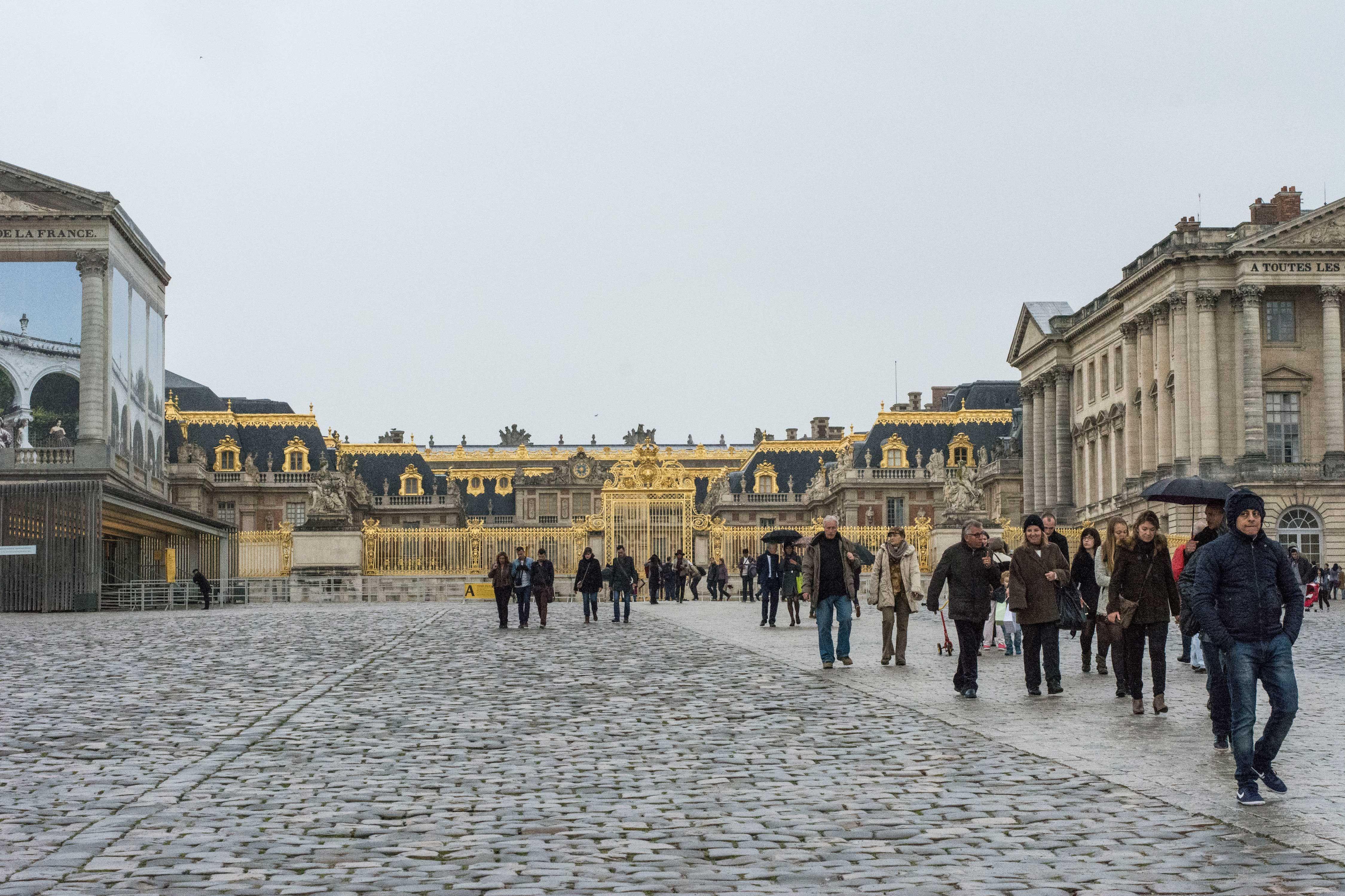 Frontis Palacio de Versalles