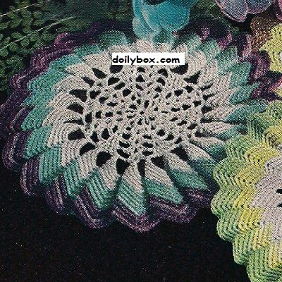 Free Crochet Patterns Sunburst Doily Pattern | doily | Pinterest ...