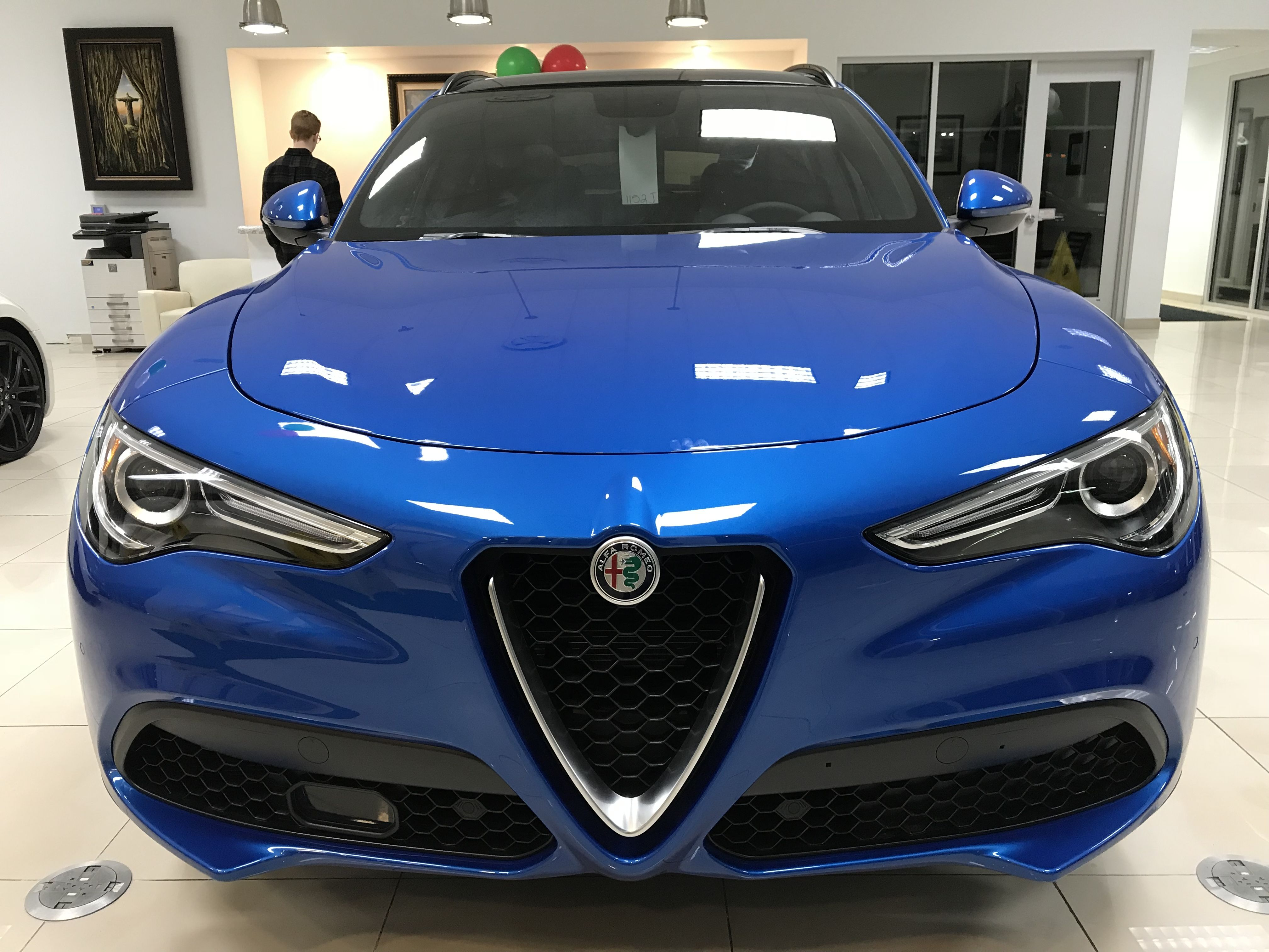 Our First Stelvio In Misano Blue Such A Beautiful Color Just 1 In