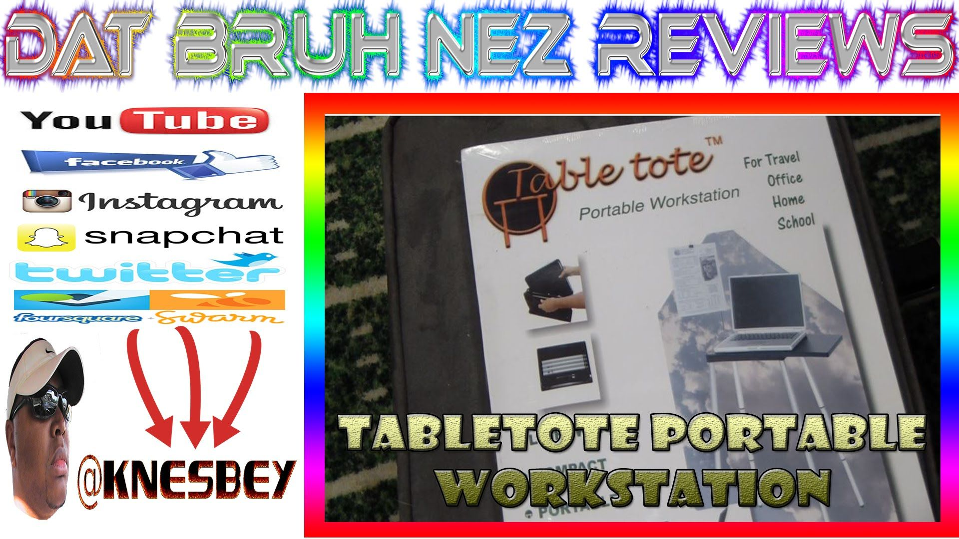 TABLE TOTE PORTABLE WORKSTATION