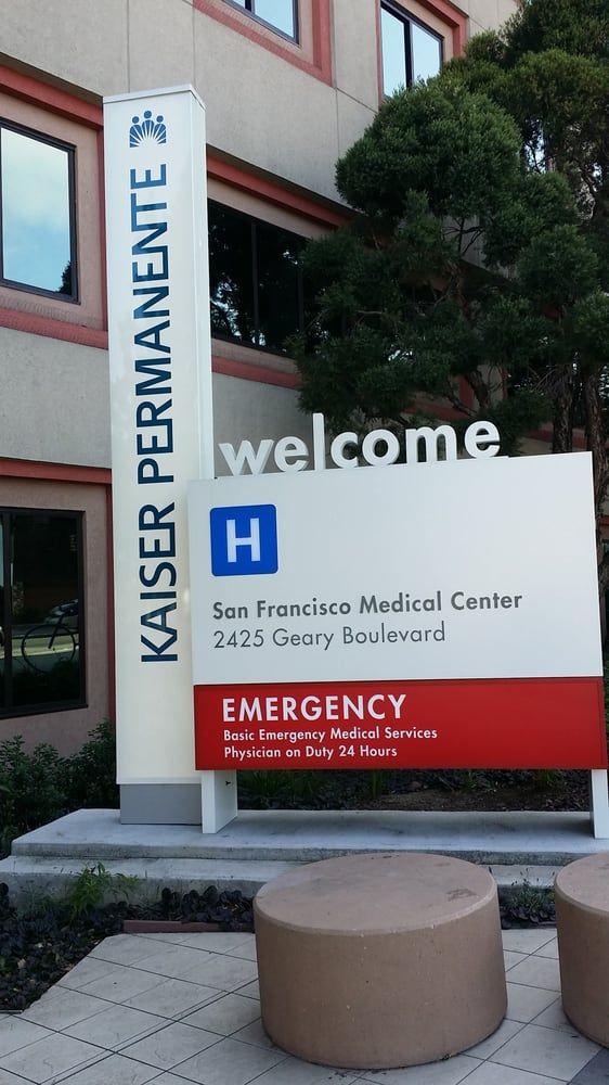 3  Kaiser Permanente San Francisco Medical Center  (My goal