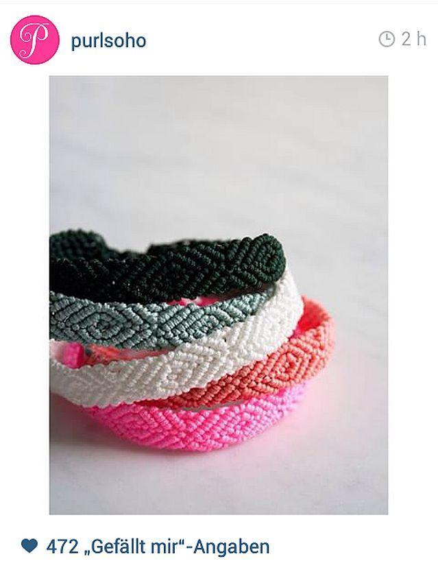 Armbänder flechten Purlbee schoenstricken.de