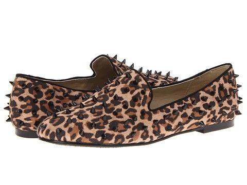 Type Z Spike Leopard - Animal Print Flats