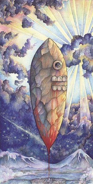 Arte Sacro y Fantástico de Pedro Sacristán: Todos los Colores del Amanecer