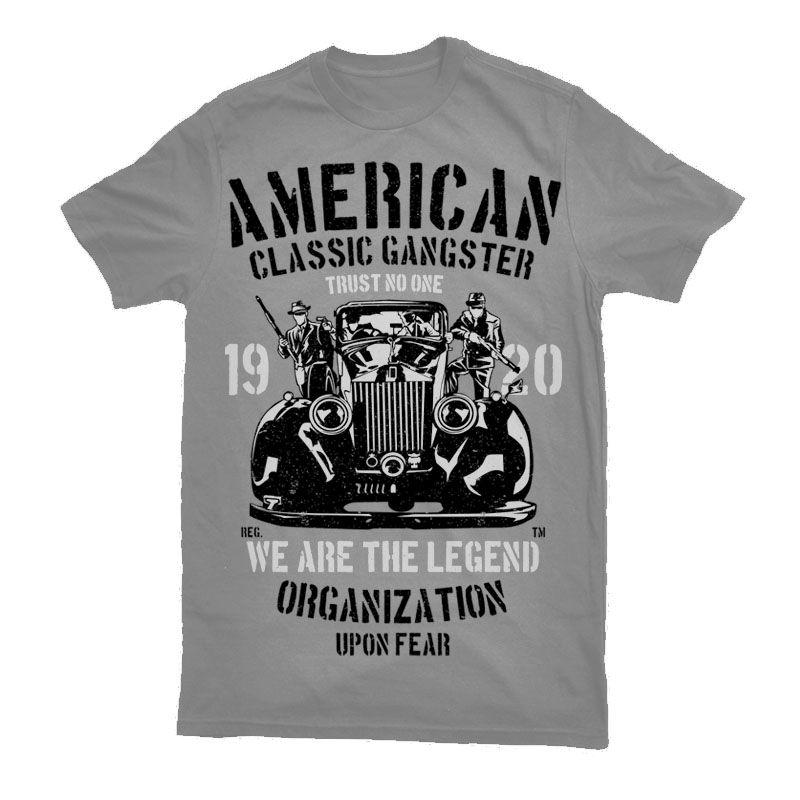 Download American Classic Gangster Tshirt Designs Shirt Designs T Shirt