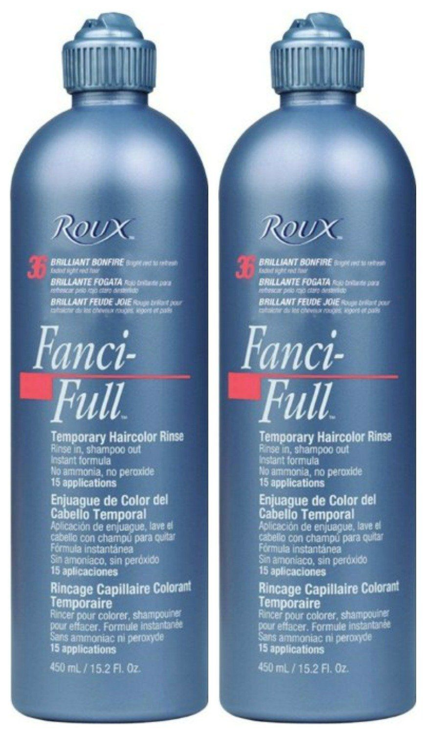 Lot Of 2 Roux Fanci Full 32 Lucky Copper Temporary Hair Color Rinse