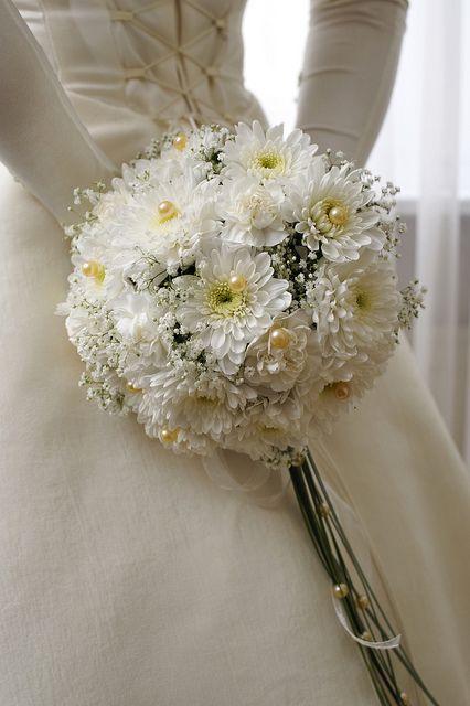 White Daisy Bridal Bouquet Daisy Bridal Bouquet Flower Bouquet
