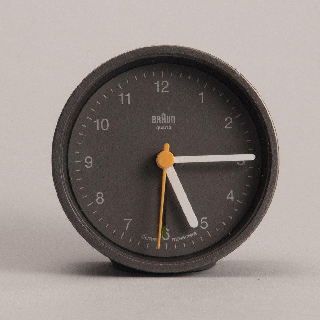 Braun Alarm Clock Grey Braun Alarm Clock Alarm Clock Design Clock