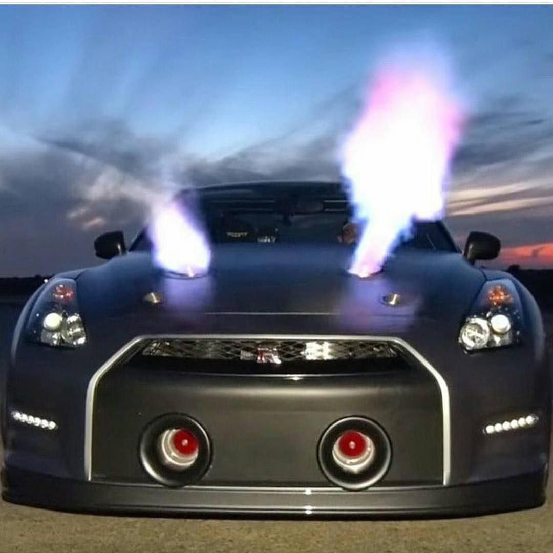 Exceptionnel This Is A Car I Go To See In Person This Car Has Two Turbos Hood Mounded  Flame Throws And It Has