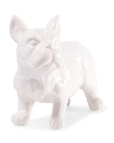 Ceramic French Bulldog Statue Bulldog Statue French Bulldog