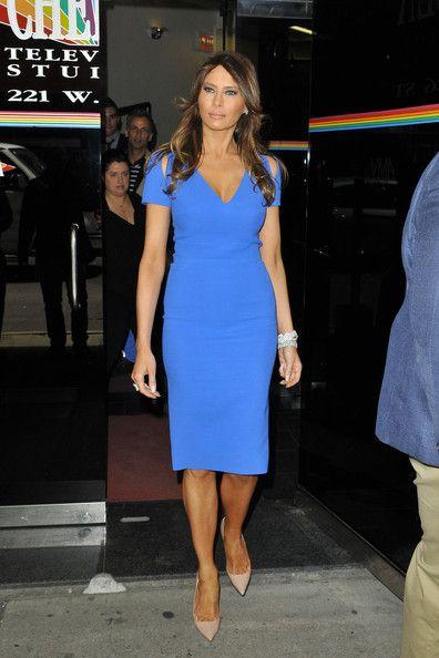 Melania Trump Tail Dress