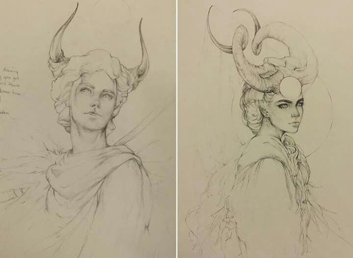 Gorgeous pencil sketches by tvonn9 on deviant art