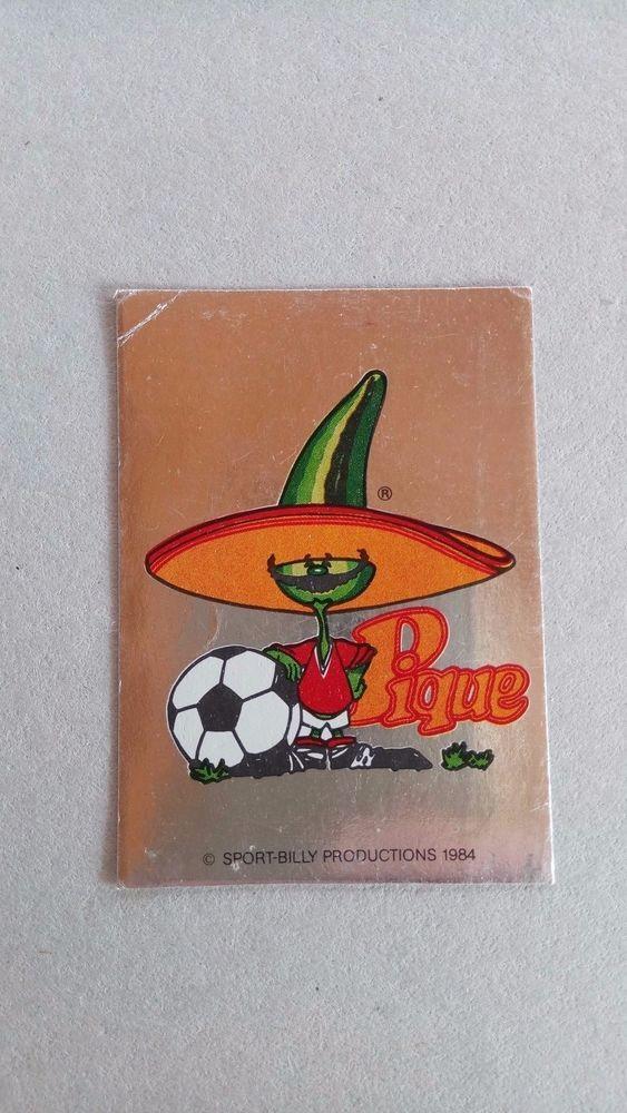 Panini Mexico 86 Sticker Mascot Pique No 3 Original