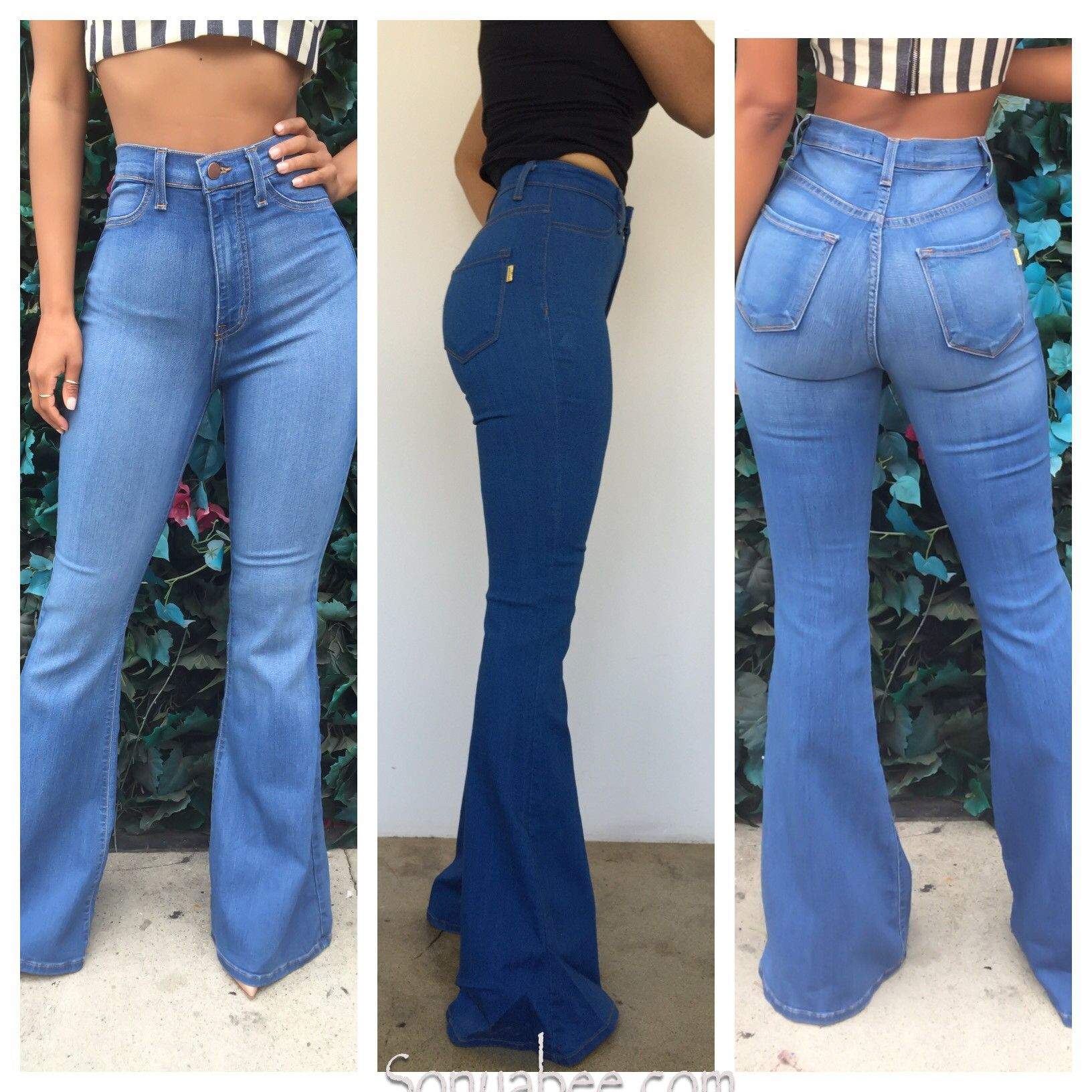 f48bb77a39db Bell Bottom Jeans – Sonya Bee s Boutique