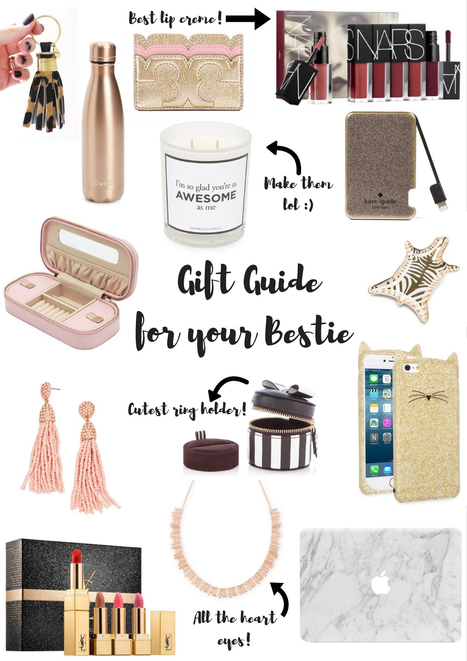 Gift Guide For Your Bestie Gifts Ideas For Everyone On