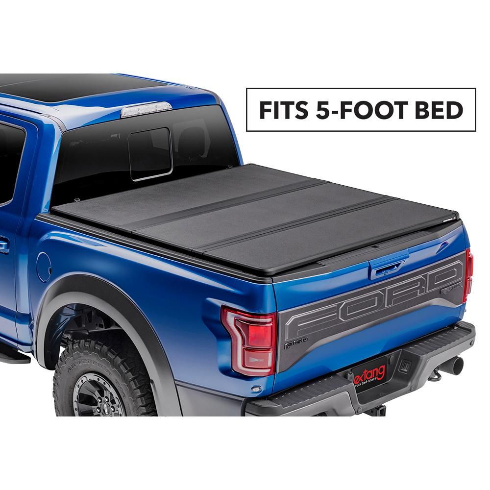 Extang Solid Fold 2 0 Tonneau Cover For 19 Ford Ranger 5 Ft Bed 83636 The Home Depot In 2020 Tonneau Cover Truck Bed Covers Truck Bed