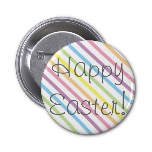 happy easter button  zazzle mit bildern