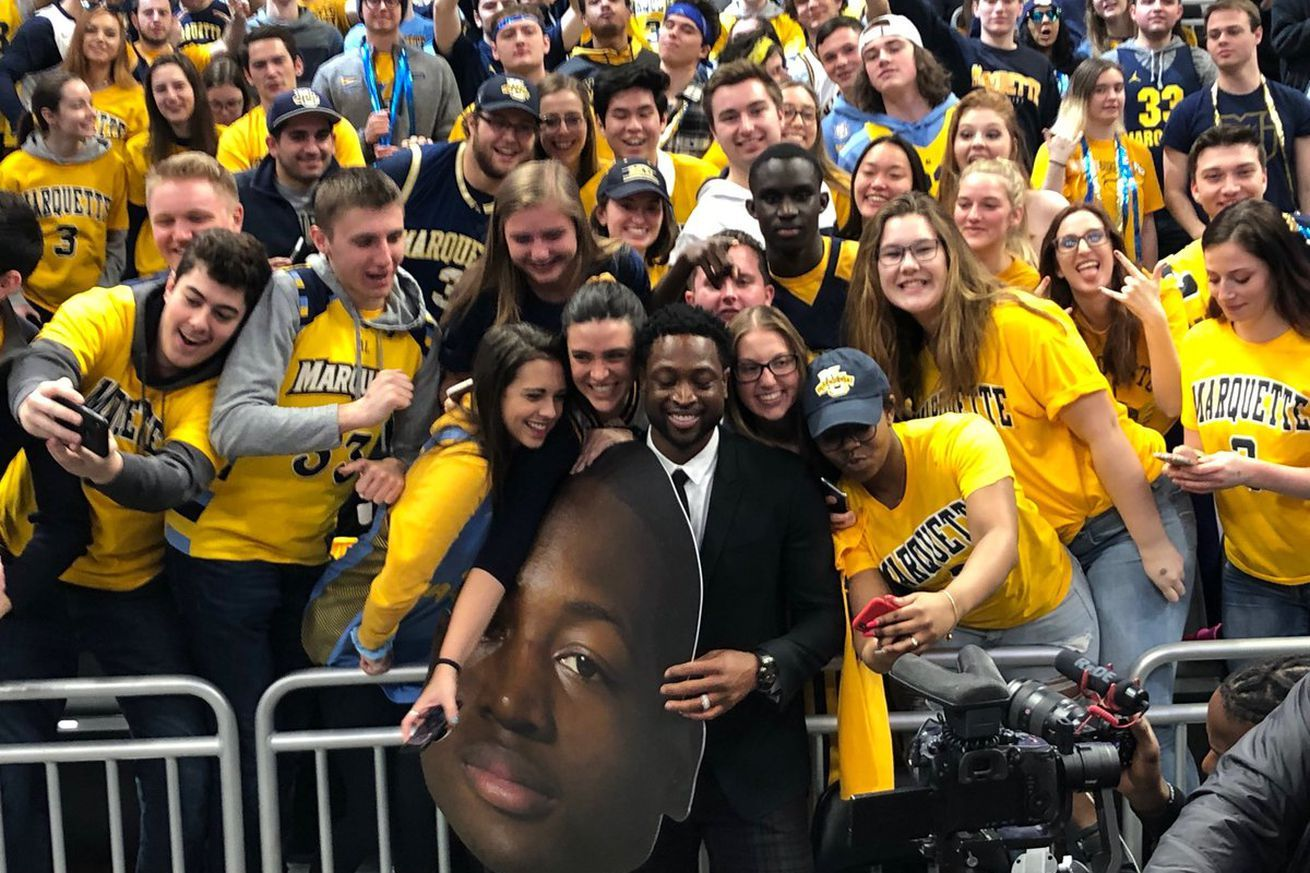 Marquette was the best stop on Dwyane Wades retirement