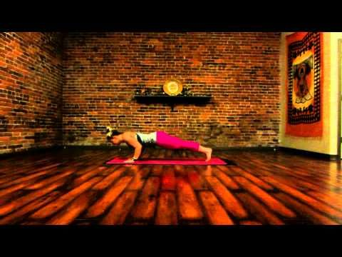 beginner yoga sun salutations a  b 10 minutes with