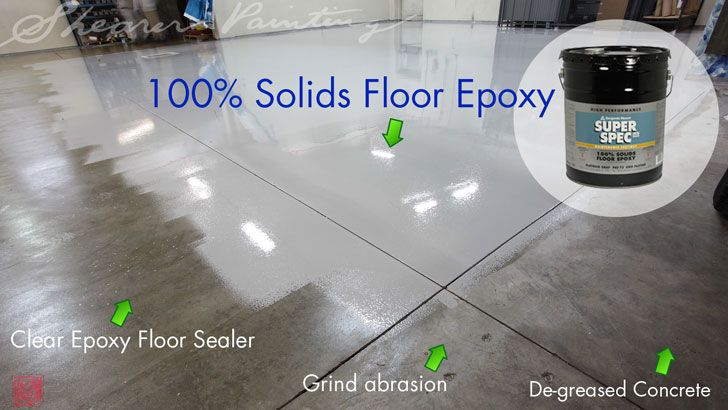 Exceptional Epoxy Floor Finish #Benjamin_moore 100% Solids