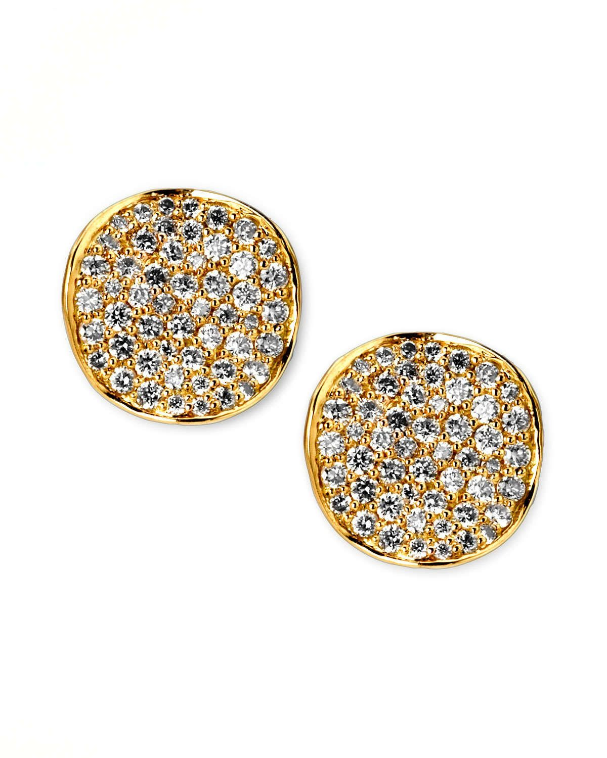 Ippolita Stardust Mini Diamond Stud Earrings SMZKxGj7M