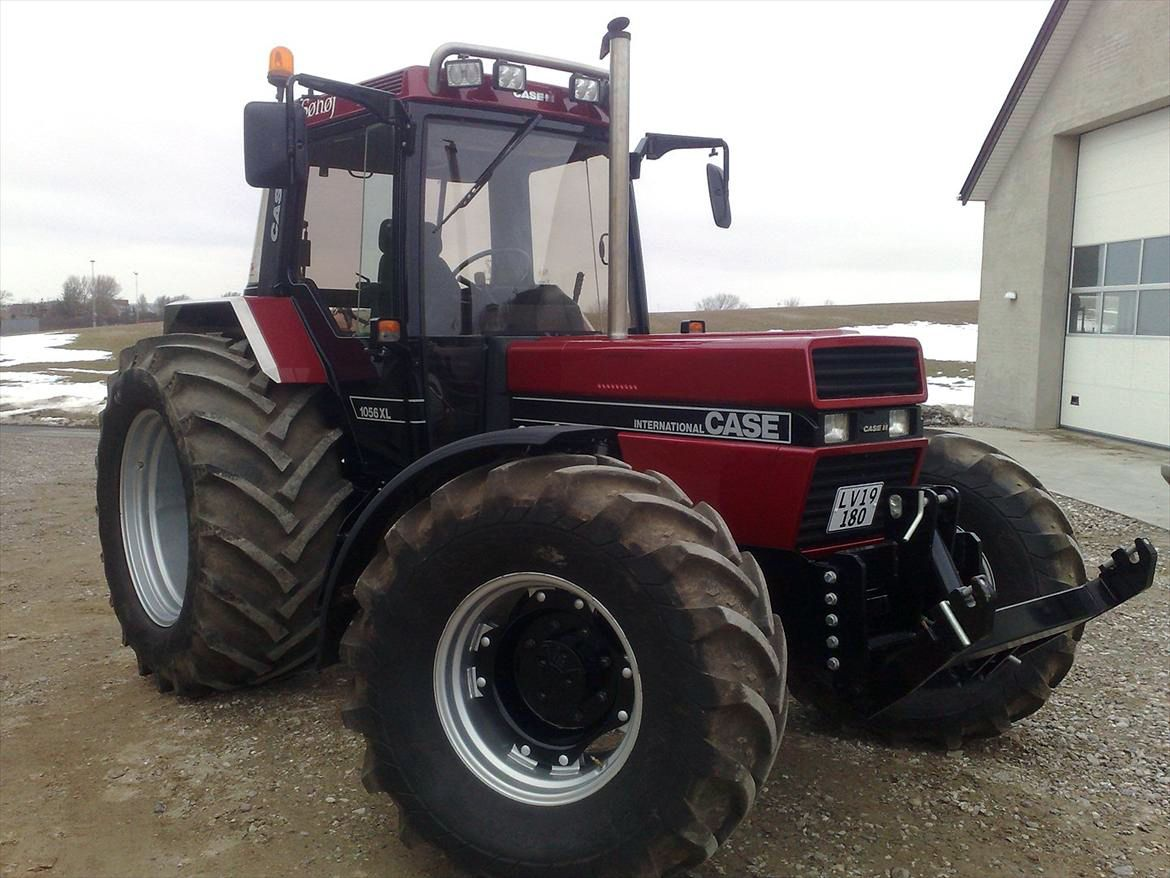 Case-International 1056XL Mario Silva, Case Ih, Good Job, Tractor