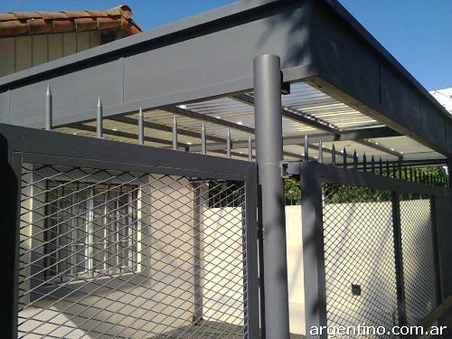772158 techos para quincho techos entrada autos garage for Techos metalicos para cocheras
