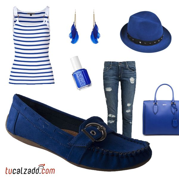 #Moda #Azul #2013 #Calzados #Casual #Tucalzado.com