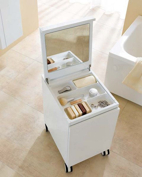 15 Great Makeup Storage Ideas, Makeup Storage In Specially Designed Furniture