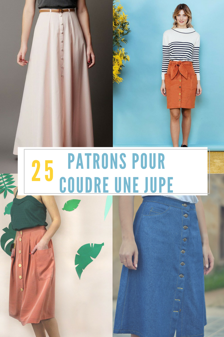 018032302a49 Coudre une jupe   Patron de couture jupe   sewing patterns skirt