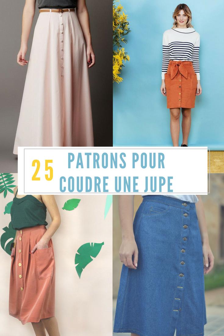 Coudre une jupe : les plus beaux patrons de couture | Nähen