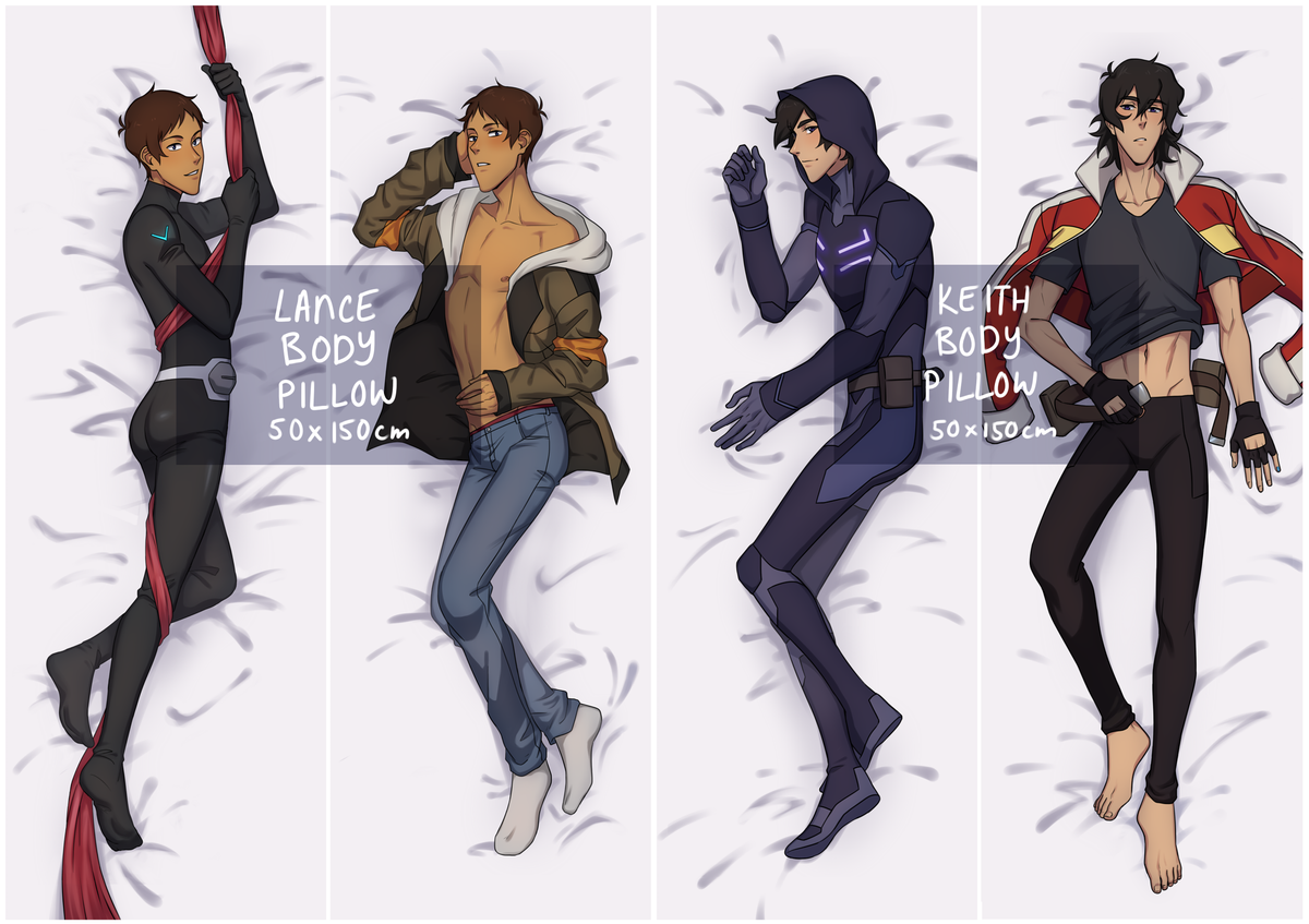 Image of Body pillow | Voltron merch
