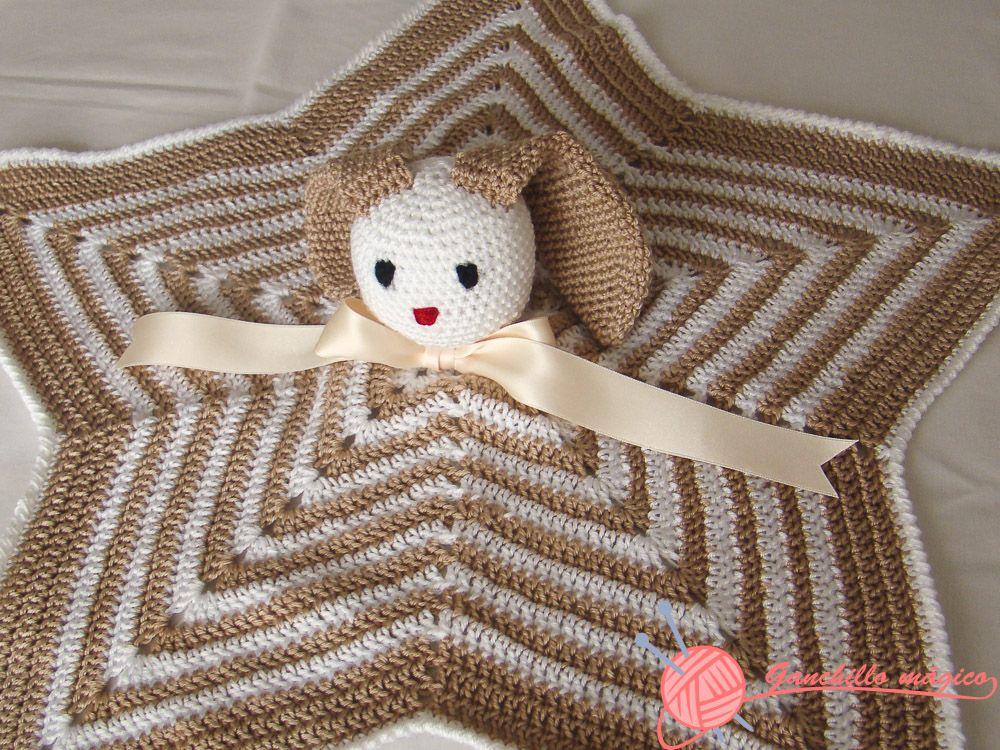 Jerseis crochet bebe patron manta de apego colchas - Manta de bebe a ganchillo ...