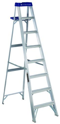 Louisville Ladder As2110 250 Pound Duty Rating Aluminum Stepladder 10 Feet Step Ladders Ladder Rustic Ladder