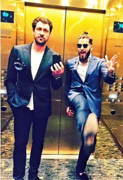 Maks and Teddy Volynets May 2015