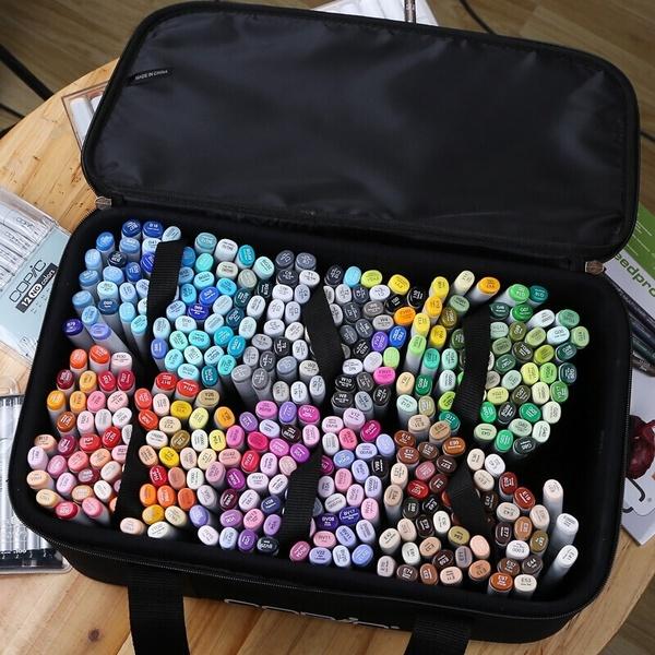 Markers Set 24/30//40//60/80 Color Copic Markers Sketch Set For Manga Design Double Head Brush Pen For School Art Supplies Design Marker   Geek#art #brush #color #copic #design #double #geek #manga #marker #markers #pen #school #set #sketch #supplies