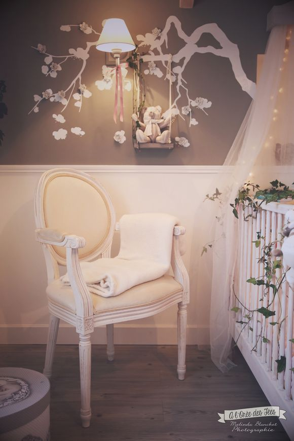 La chambre b b de louise i babies room and nursery for Deco romantique