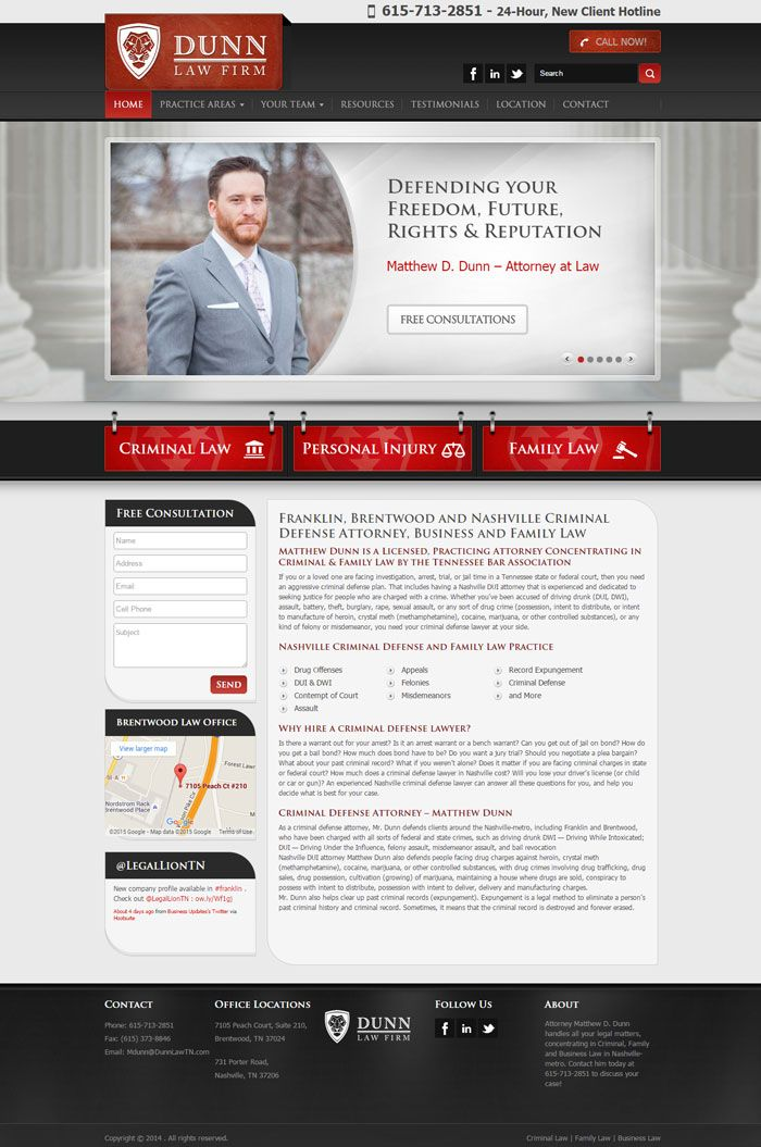 22 Law Firm Websites For Your Inspiration Law Firm Website Law Firm Web Design