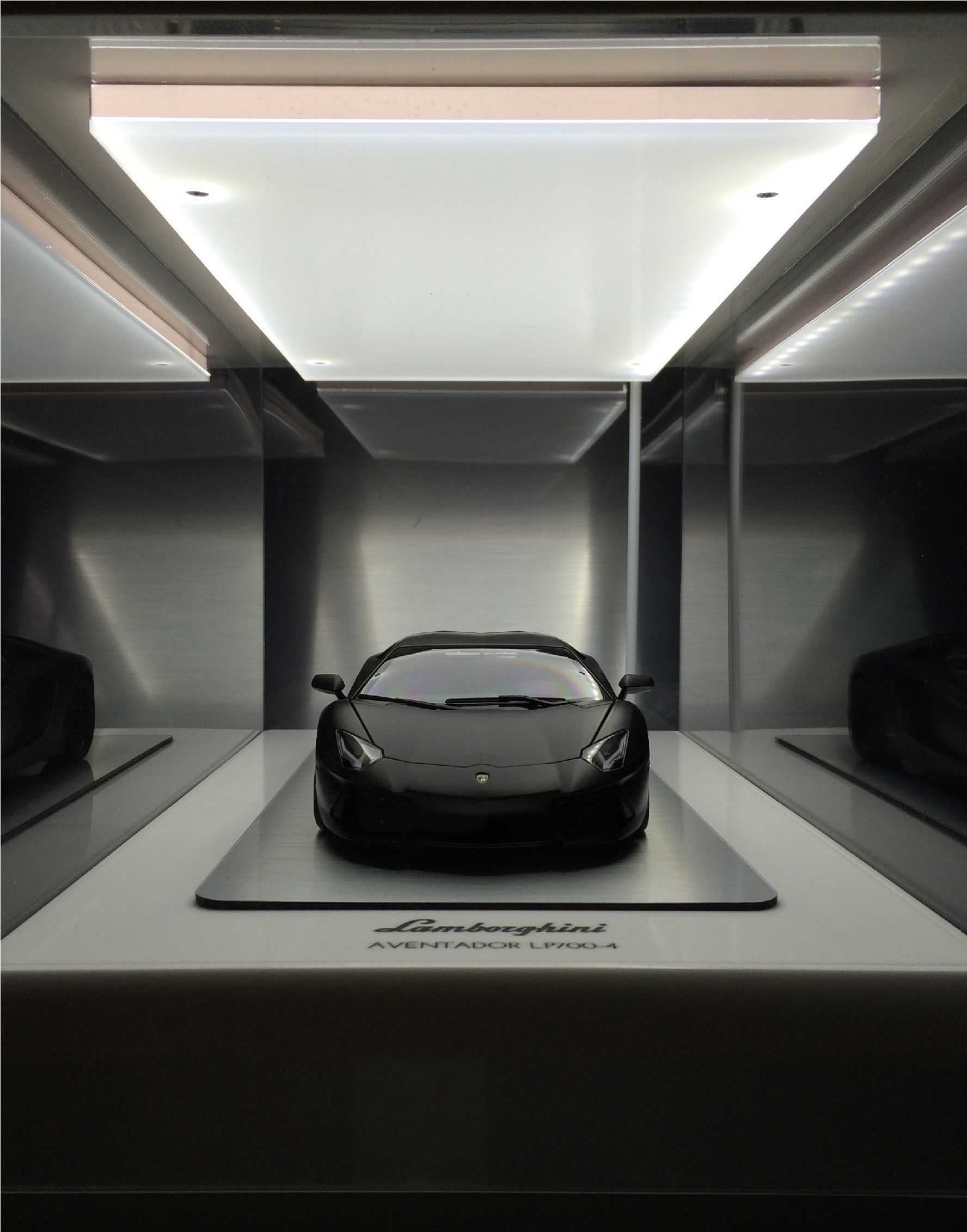 Led Display Cases Manufactured In House Model Cars Display