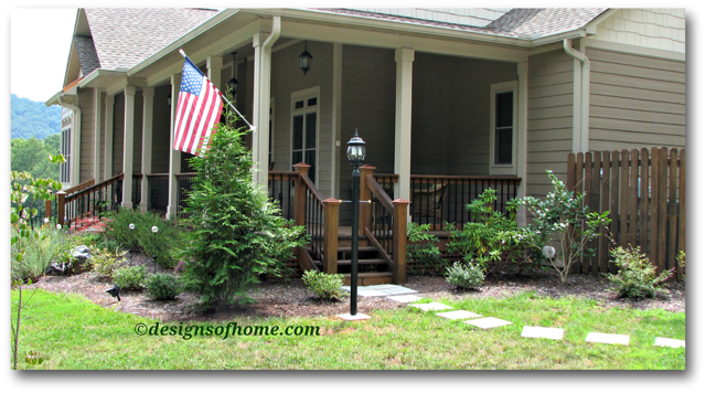 Wrap Around Porch Landscaping Design