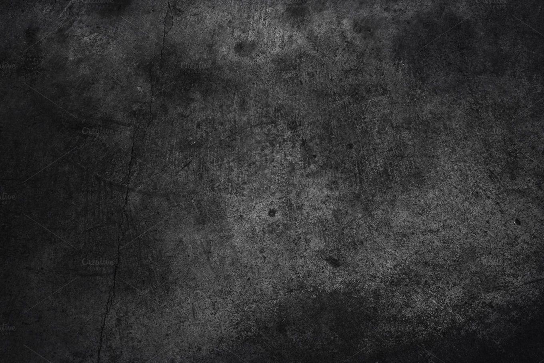 Dark Grey Concrete Black Walls Textured Walls Concrete Texture