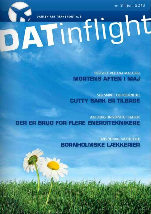 DAT inflight, Danish Air Transport