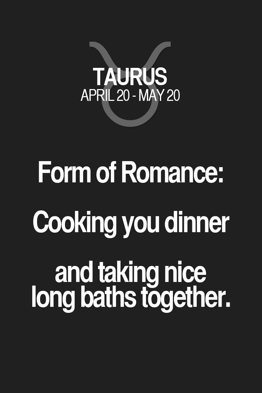 Taurus horoscope romance