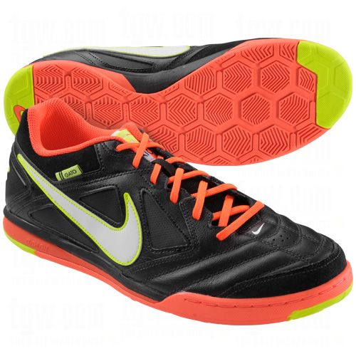 NIKE Mens Nike5 Gato Leather Indoor Soccer Shoes