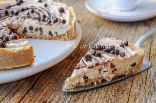 Crostata fredda al caffè e nutella dolce veloce e facile senza forno, ottimo dopo pranzo o cena, ricetta deliziosa a base di caffè. Crostata fredda al caffè e nutella dolce veloce Un dolce semplicissi