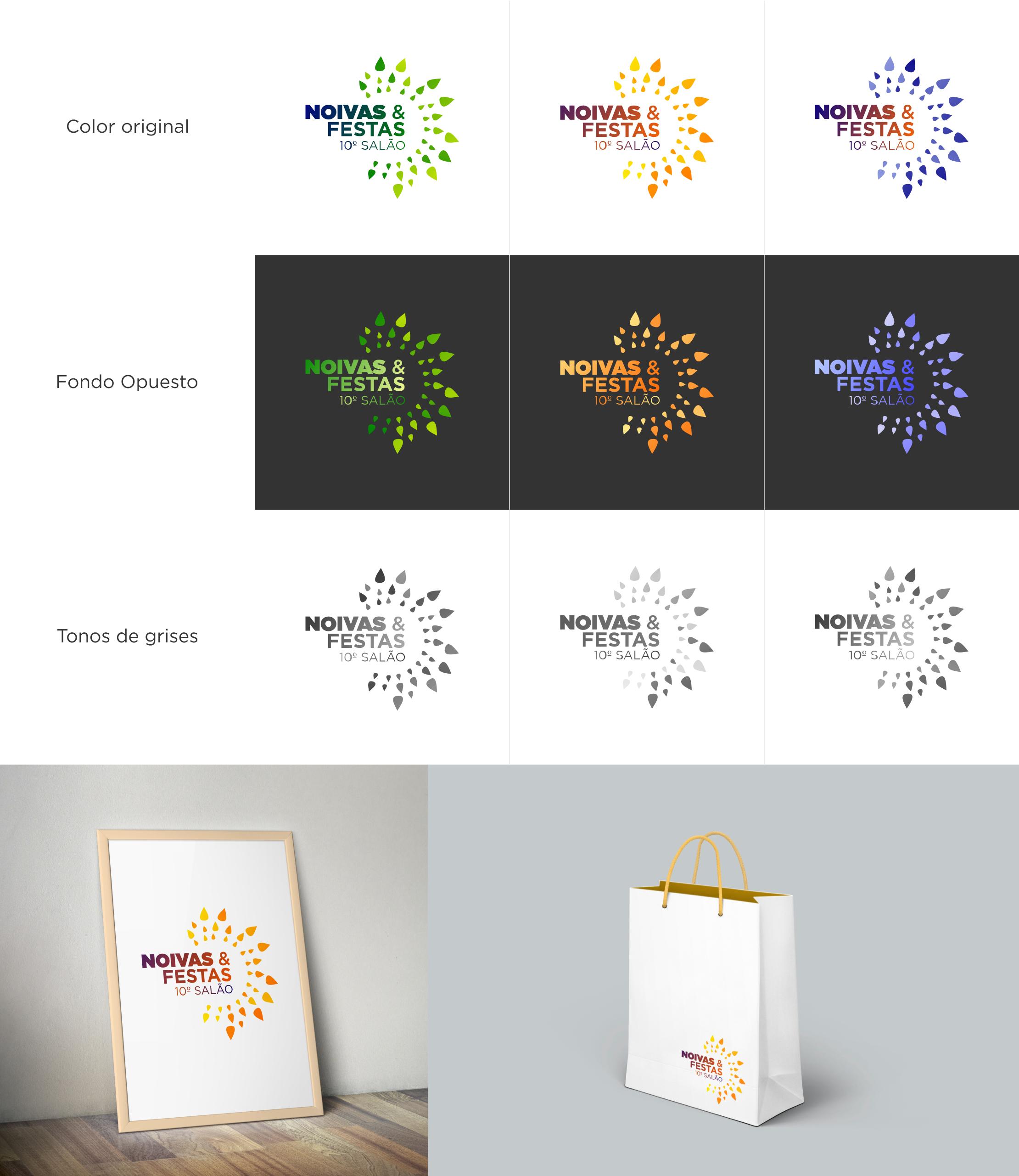 Noivas & Festas  - Logos y variantes -